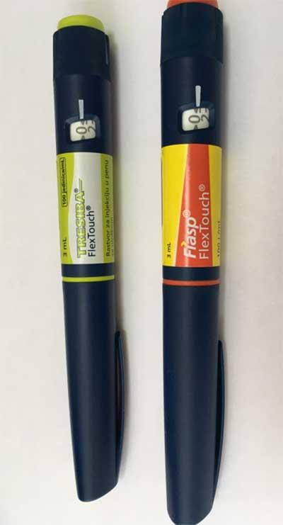 Tresiba i Fiasp u novom insulinskom penkalu